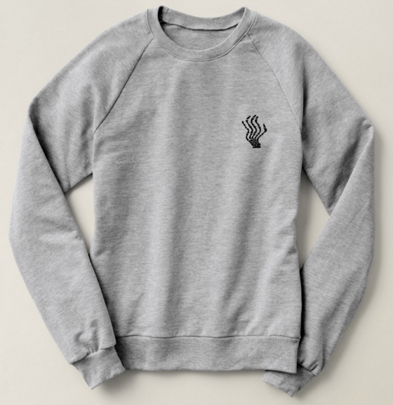 Image of Logo Raglan Sweatshirt (Camel, Grey, Navy, or Black)
