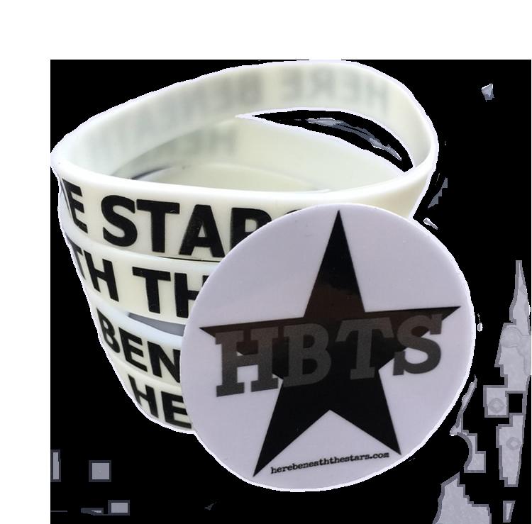 Image of HBTS Glow Bracelet and Sticker Bundle