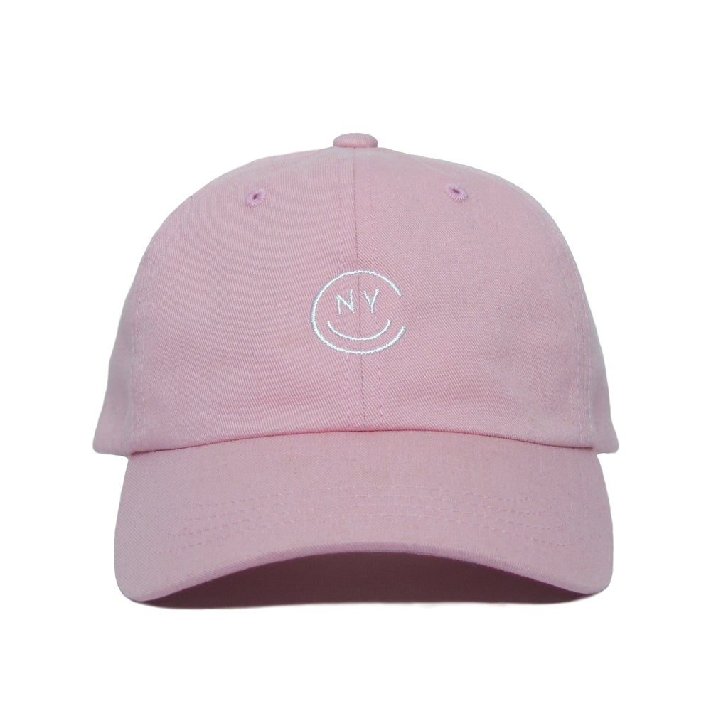 Image of NYC Smile Cap - Pink