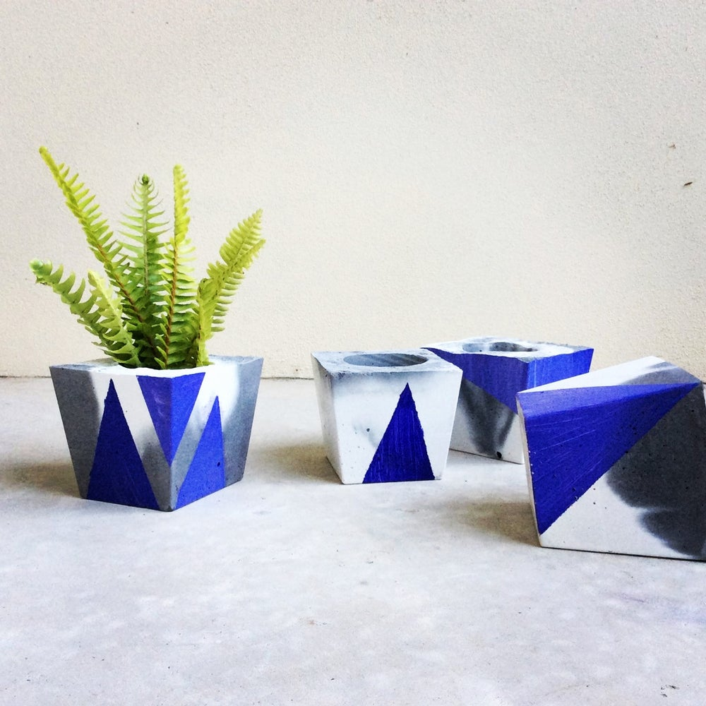 Terrariums By Tom — C O N C R E T E | Geometric colour concrete ...