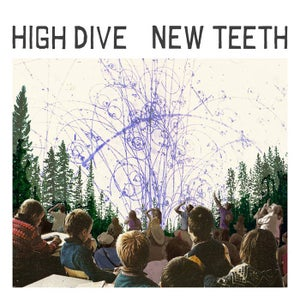 Image of High Dive - New Teeth LP GREEN or PURPLE Vinyl