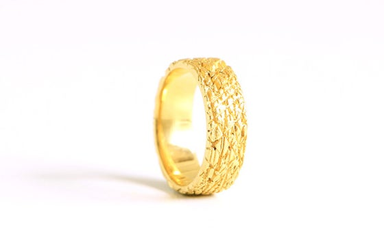 Image of Dans les bois, Ring in fairmined gold 18k