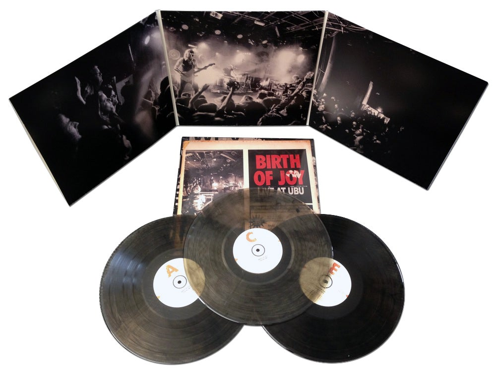 "Image of Birth Of Joy ""Live At Ubu"" LP"