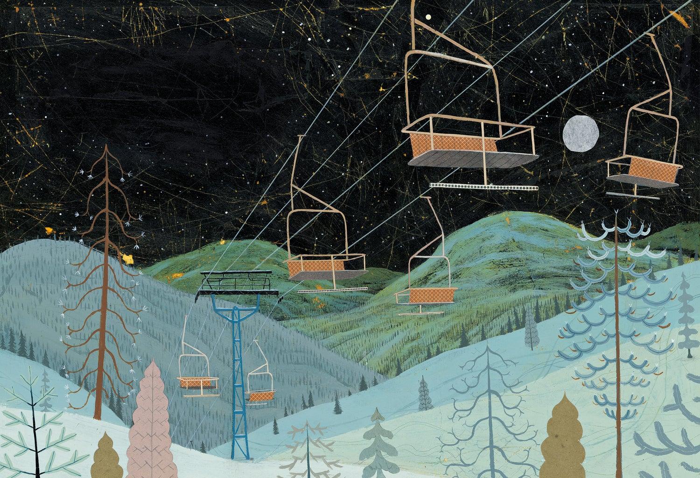 Image of Slush Mountain Chairlift