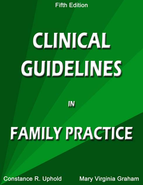 Image of Clinical Guidelines in Family Practice, Fifth Edition (2013)