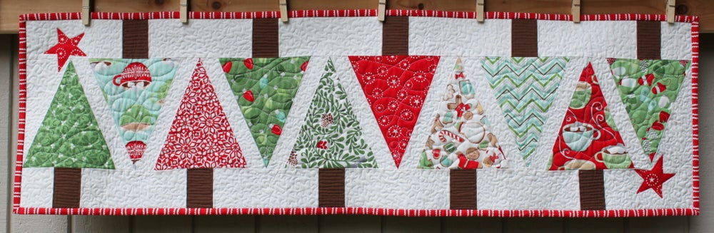 Image of Christmas Quilted Table Runner (2)