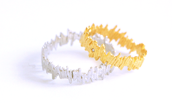 Image of Guermante, Ring in Certified Fairmined white gold.