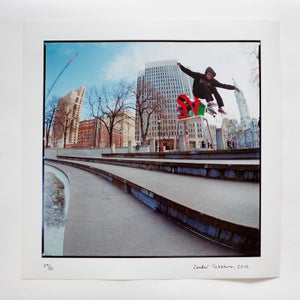 "Image of ishod wair - frontside pop-shuv - 12"" x 12"" print"