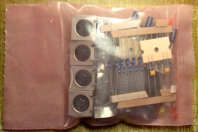 Image of MIDI I/O module Kit + Board