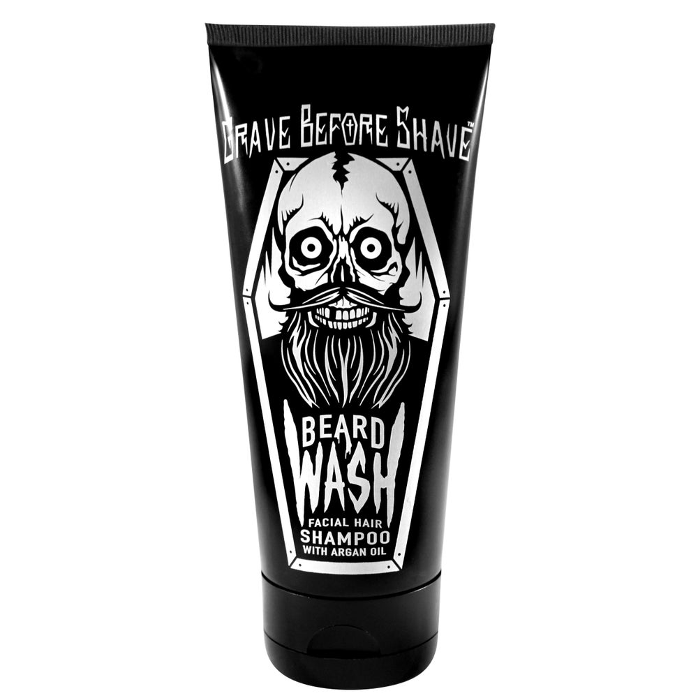 Image of GRAVE BEFORE SHAVE™  BEARD WASH Shirt & Shampoo combo