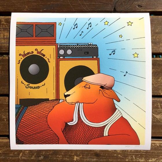 Image of Kangaroo Sound Mixtape Cover (Edition of 10)
