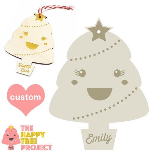 Image of Personalised Happy Tree