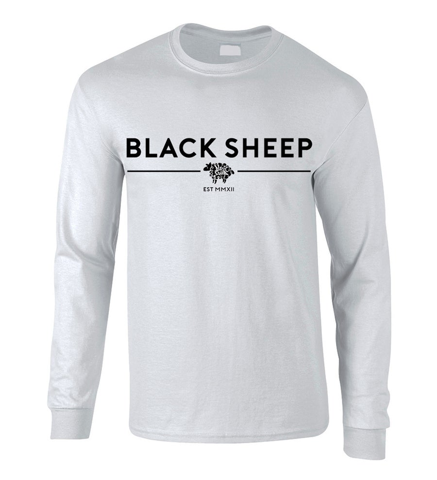 Image of TRADEMARK LONG-SLEEVE TEE (WHITE)