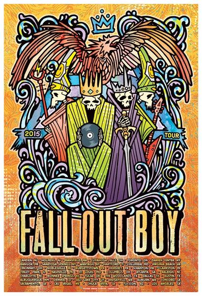 Image of Fall Out Boy - USA Tour 2015