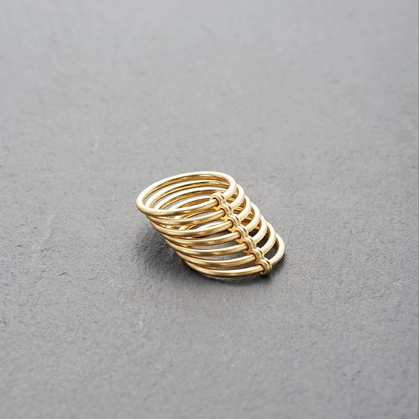 Image of 18k Gold Mirissa Ring