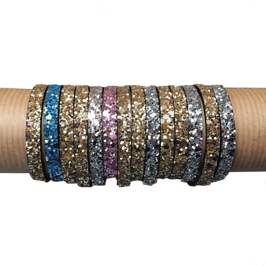 Image of bracelets - GLITTER