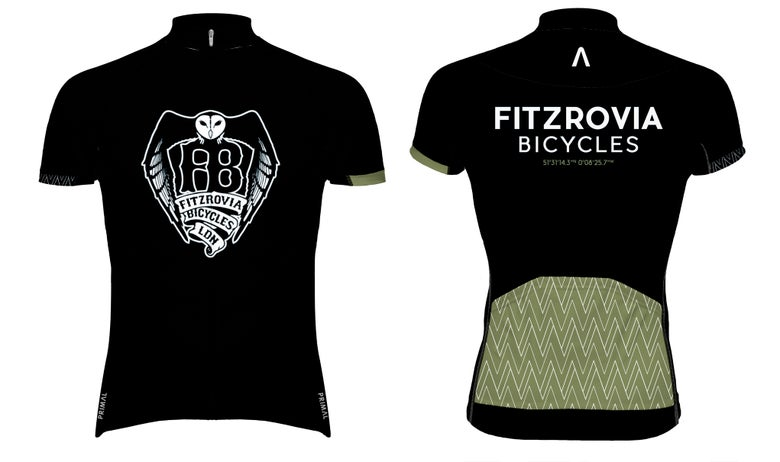 Image of Fitzrovia Bicycles 'Coordinates' Jersey