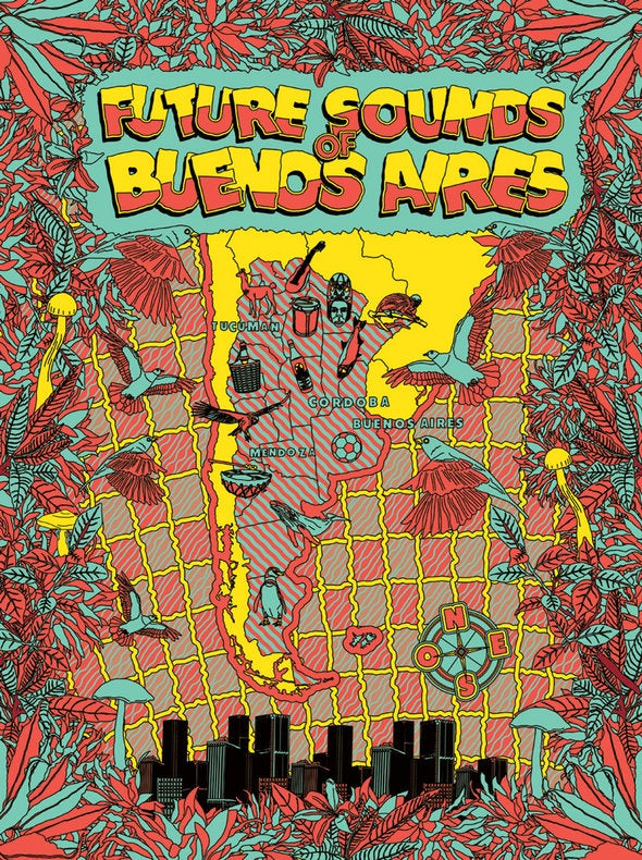 Image of Future Sounds of Buenos Aires (CD + Free Poster)