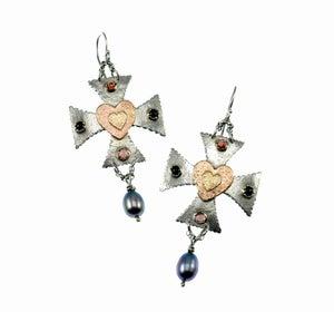 """Image of """"De Medici"""" Earrings"""