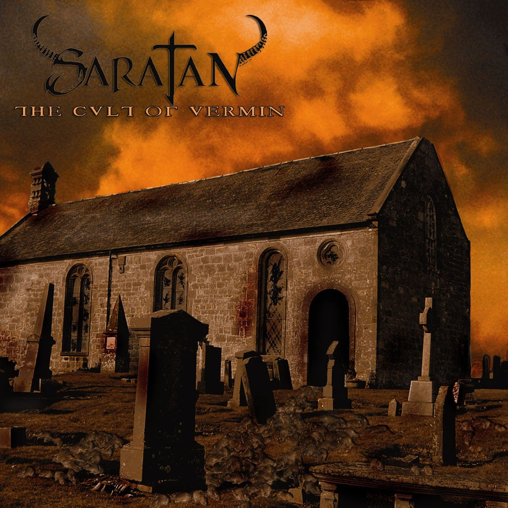 "Image of SARATAN ""The Cult Of Vermin"" CD"