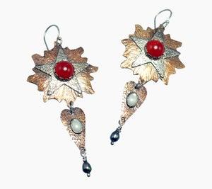 """Image of """"Le Roi Soleil"""" Earrings"""