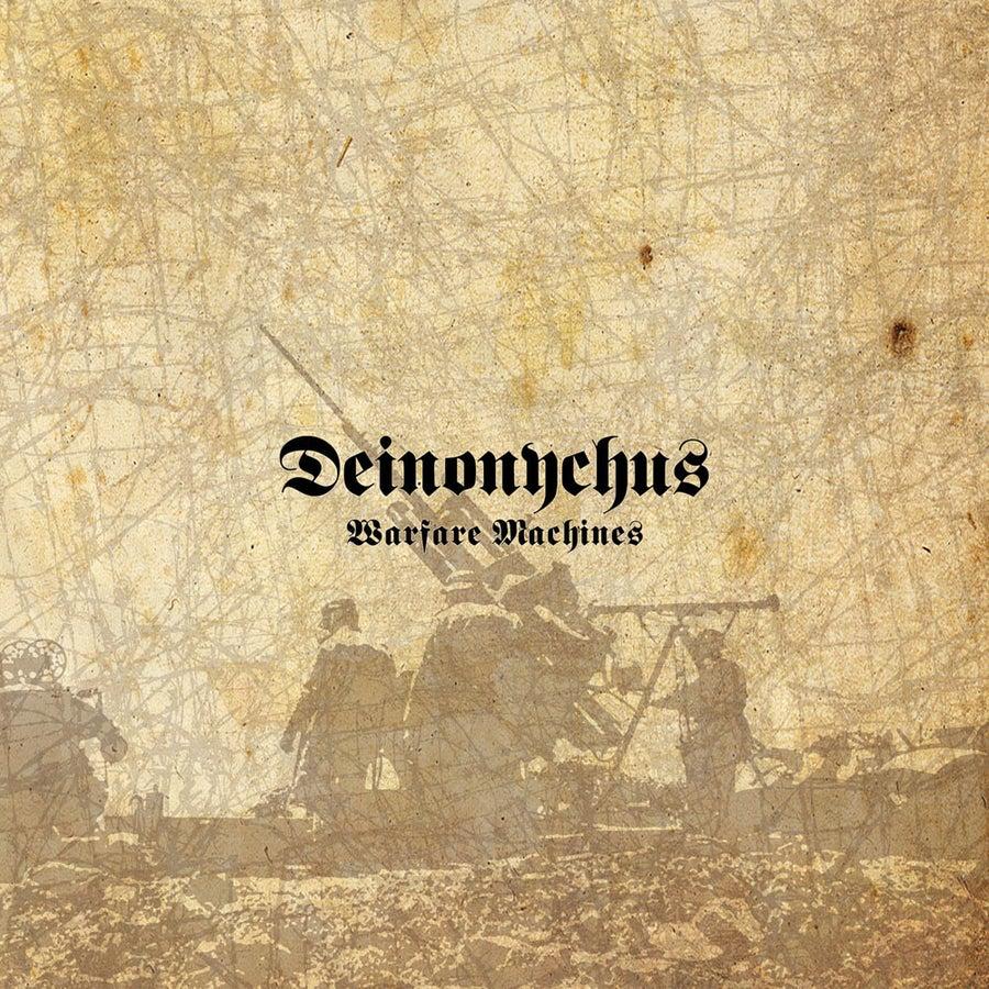 "Image of DEINONYCHUS ""Warfare Machines"" slipcaseCD"