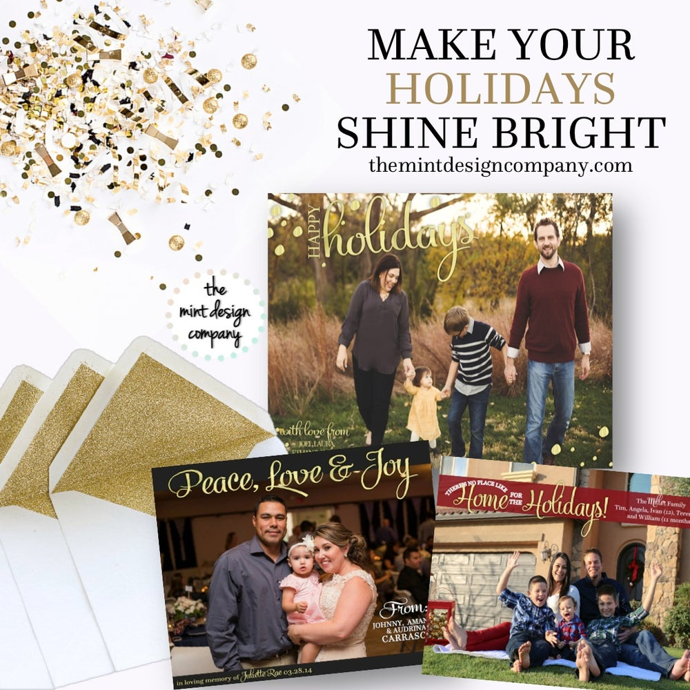 Image of Holiday Card Design
