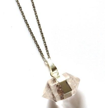 Image of Kool Jewels Clear Precious Stone Pendant