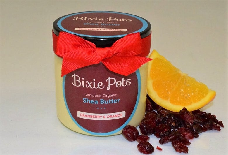 BixiePots Whipped Shea Butter CRANBERRY & ORANGE £ 9.99 / On Sale