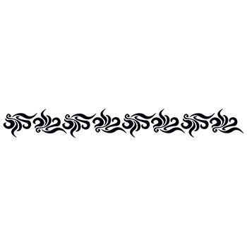Image of Sexy Whirls and Swirls 9-Inch Tattoo