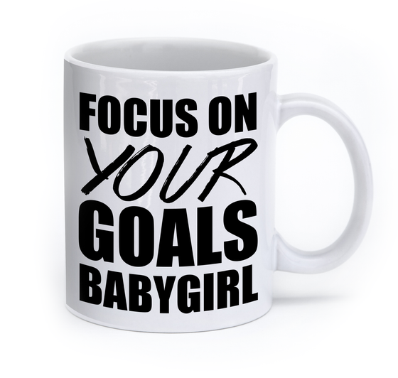 Image of Focus On Your Goals Mug