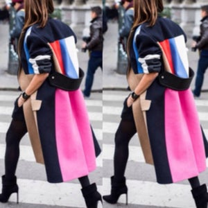 Image of Color Block Trench