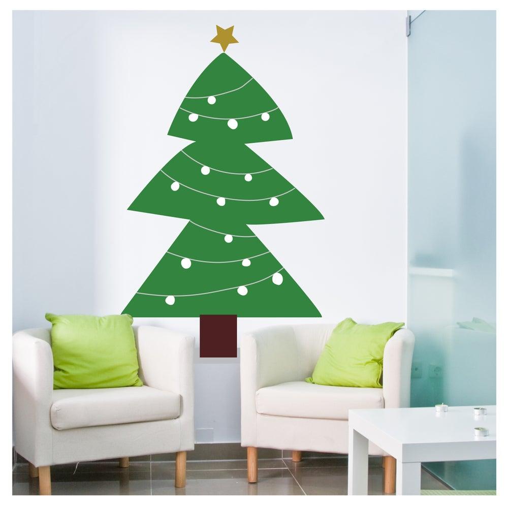 Image of Vinilo Árbol de Navidad 1