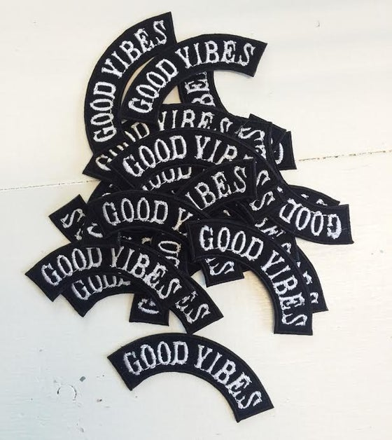 Image of GOOD-VIBES ROCKER Patch