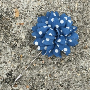 Image of Baby Blue Pedal Lapel Pin