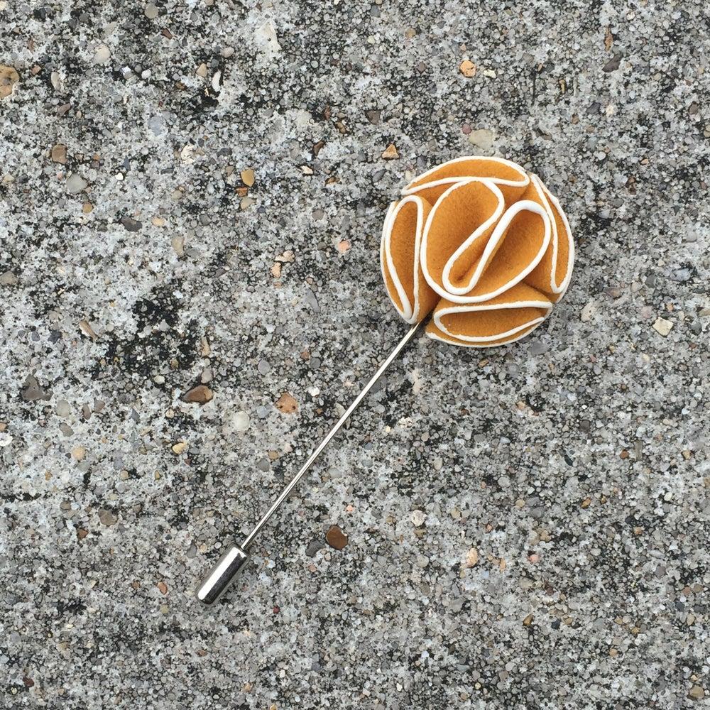 Image of Mustard Lapel Pin