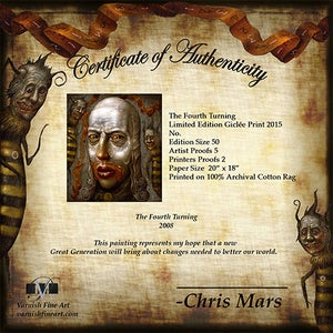 Image of Chris Mars: The Fourth Turning Print