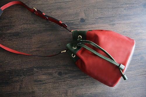 Image of Custom Handmade Genuine Leather Messenger Shoulder Bag Crossbody Bag D038