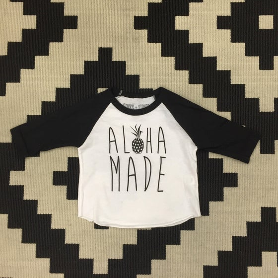 Image of Aloha Made Raglan