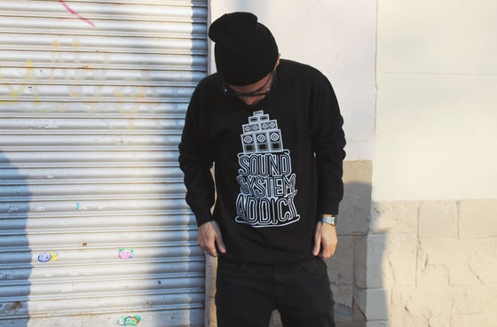 Image of Soundsystem Addict: Sweatshirt black