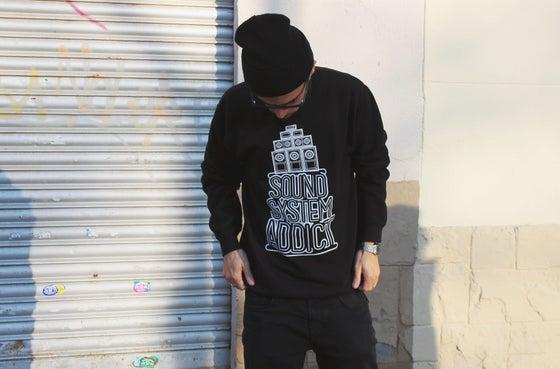 Image of Soundsystem Addict: Sweatshirt black
