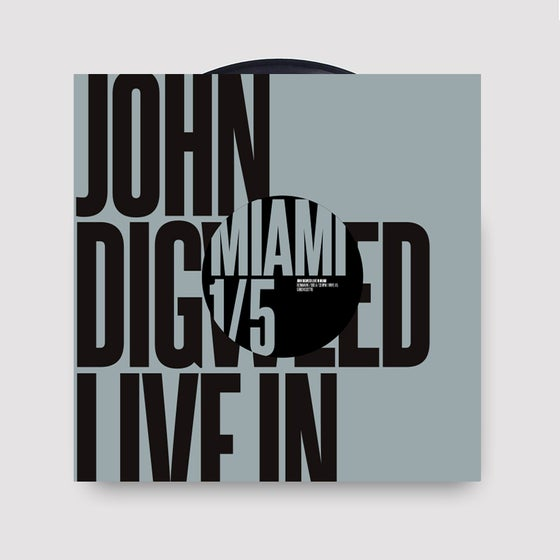 Image of John Digweed Live in Miami Vinyl 1