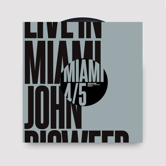 Image of John Digweed Live in Miami Vinyl 4