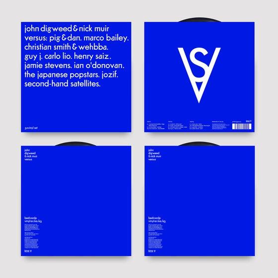 """Image of Limited Edition John Digweed & Nick Muir Versus 3x12"""" Vinyl Album"""