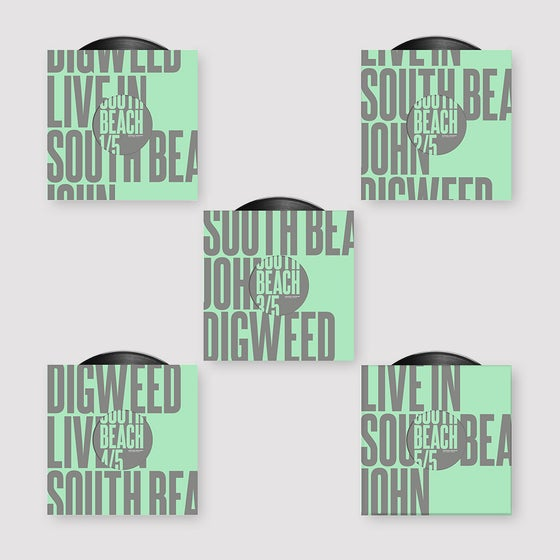"Image of John Digweed Live in South Beach 5x12"" Vinyl"