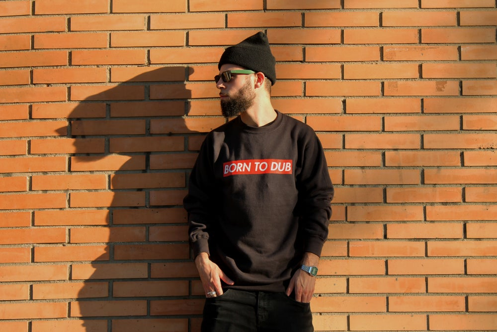 Image of Born to Dub: Sweatshirt charcoal