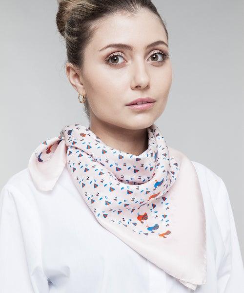Image of Babette, il pavone bluette (rosa)