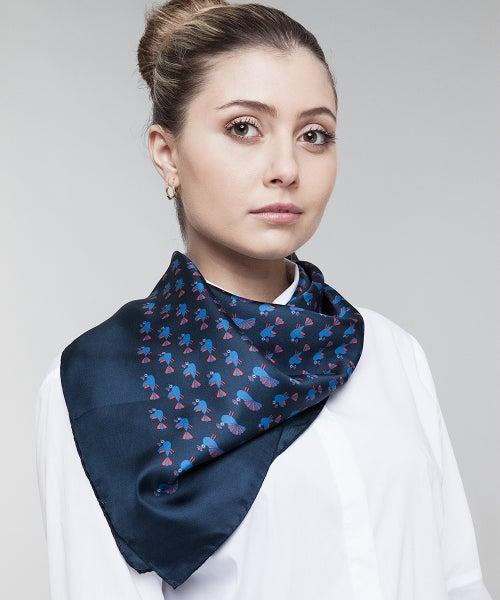Image of Babette, il pavone bluette (blu)