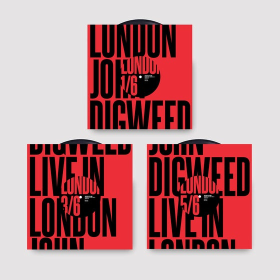 "Image of John Digweed Live in London Limited Edition 3x12"" Vinyl Pack"