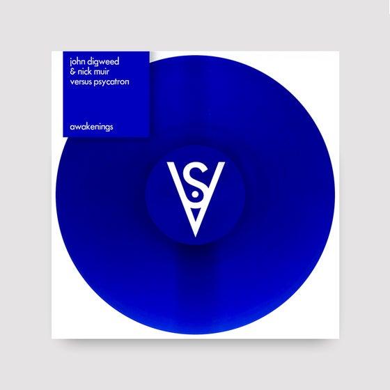 "Image of John Digweed & Nick Muir Versus Psycatron 'Awakenings' Limited Edition Coloured 12"" Vinyl"